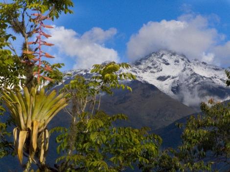 Pico Bolívar nevado, Mérida (Venezuela)