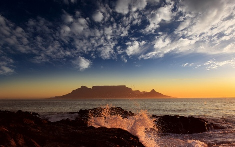 Montaña de la Mesa en Ciudad del Cabo (Sudáfrica), por Dietmar Temps (CC)