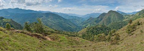 Andes venezolanos entre Canaguá y Guaimaral. Paolo Costa. GFDL/CC-BY-SA 3.0