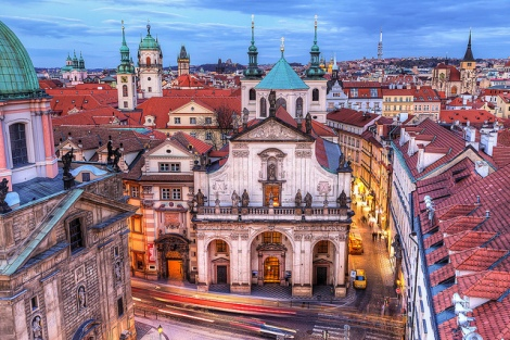 View from the Charles Bridge tower, Miroslav Petrasko (CC BY-NC-ND 2.0)
