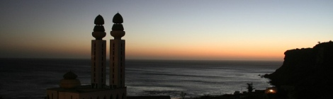 Mezquita en la playa de Dakar - Angela Sevin (CC BY-NC-SA